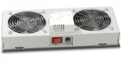 LANDE - Lande 2 Li Fan Modülü Termostat Switch Duvar Tipi Sınıfı İçin.