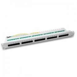 ECOLAN - Ecolan 25 Port Cat 3 Isdn Patch Panel Gri.