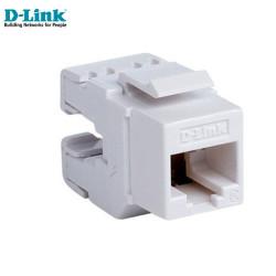 D-LINK - D-Link NKJ-C6WHI1B21 Cat6 Utp Keystone Jack
