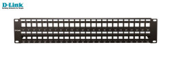 D-LINK - D-Link Npp-Al1blk481 48 Port Cat6 Utp Boş Patch Panel