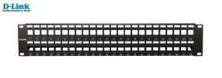 D-LINK - D-Link Npp-Al1blk481 48 Port Cat6 Utp Boş Patch Panel