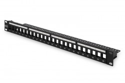 DIGITUS - Digitus 24 Port Shielded Modular Patch Panel Label Fields.