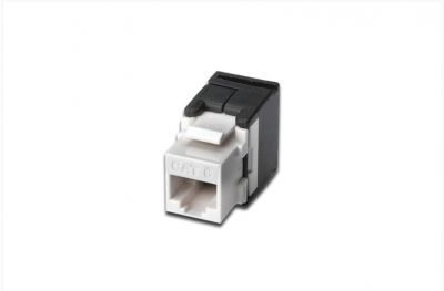 Digitus Cat 6 Keystone Jack, Unshielded, Rj45 To Lsa, Tool Free Connection, Incl. Cable Tie.