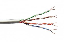 DIGITUS - Digitus Cat 6 U-Utp Installation Cable, Raw, LSOH, AWG23, Simplex, Color Grey 305mt.