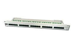 DIGITUS - Digitus DN-91325-1 19 Inch 25 port CAT-3 ISDN Patch Panel, Zırhsız