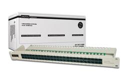 DIGITUS - Digitus DN-91350-1 19 Inch 50 port CAT-3 ISDN Patch Panel, Zırhsız