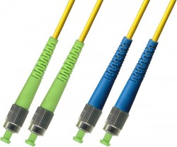 OEM - Oem Fo. Duplex P.Cord Fc(Apc)/Fc Sm 9/125µ 1 Mt.