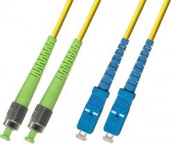 OEM - Oem Fo. Duplex P.Cord Fc(Apc)/Sc Sm 9/125µ 10 Mt.