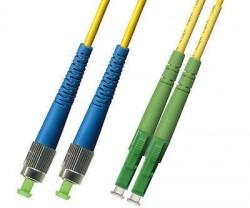 OEM - Oem Fo. Duplex P.Cord Lc(Apc)/Fc Sm 9/125µ 10 Mt.
