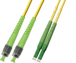 OEM - Oem Fo. Duplex P.Cord Lc(Apc)/Fc(Apc) Sm 9/125µ 3 Mt.
