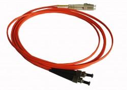 OEM - Oem Fo. Duplex P.Cord Lc/Fc Mm 50/125µ 3 Mt.