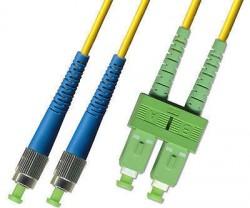 OEM - Oem Fo. Duplex P.Cord Sc(Apc)/Fc Sm 9/125µ 1 Mt.