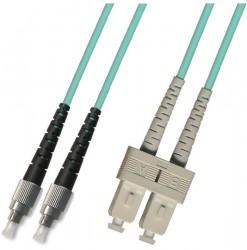 OEM - Oem Fo. Duplex P.Cord Sc/Fc Om3 50/125µ 10 Mt.