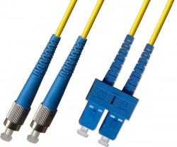 OEM - Oem Fo. Duplex P.Cord Sc/Fc Sm 9/125µ 5 Mt.