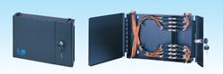 HCS - Hcs 8 port ST Simplex duvar tipi patch panel, boş