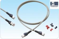 HCS - Hcs T6A-00480-50 S/Ftp Cat 6a 10G Lsoh Patch Cord Gri 5m.
