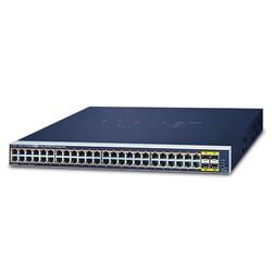 PLANET - Planet PL-GS-4210-48P4S 48 Port Yönetilebilir Gigabit PoE Switch
