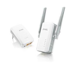 ZYXEL - Zyxel PLA-5236 KIT AV1000 Teknolojisi AC900 Mbps 2 Gigabit 2.4 & 5.0 Ghz Powerline Adaptör Kiti